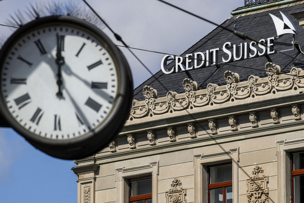 Pension Fund Sues Credit Suisse Over Greensill, Archegos Scandals