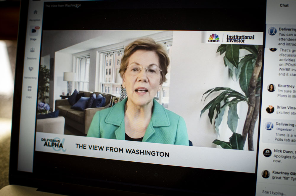 Elizabeth Warren Wants to 'Break the Influence of Rich Folks'