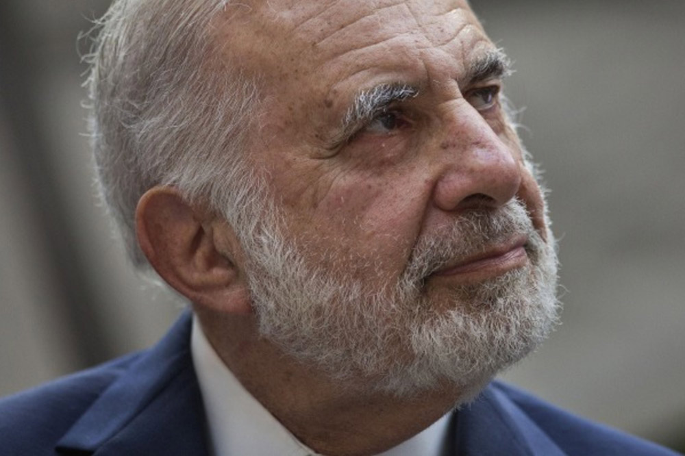 Icahn's Investment Funds Report Double-Digit Loss for Second Straight Year