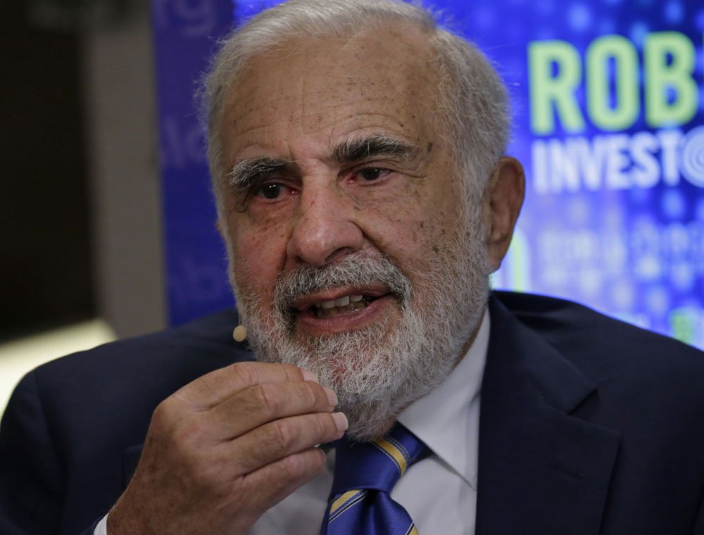Icahn's Investment Portfolio Extends Losses