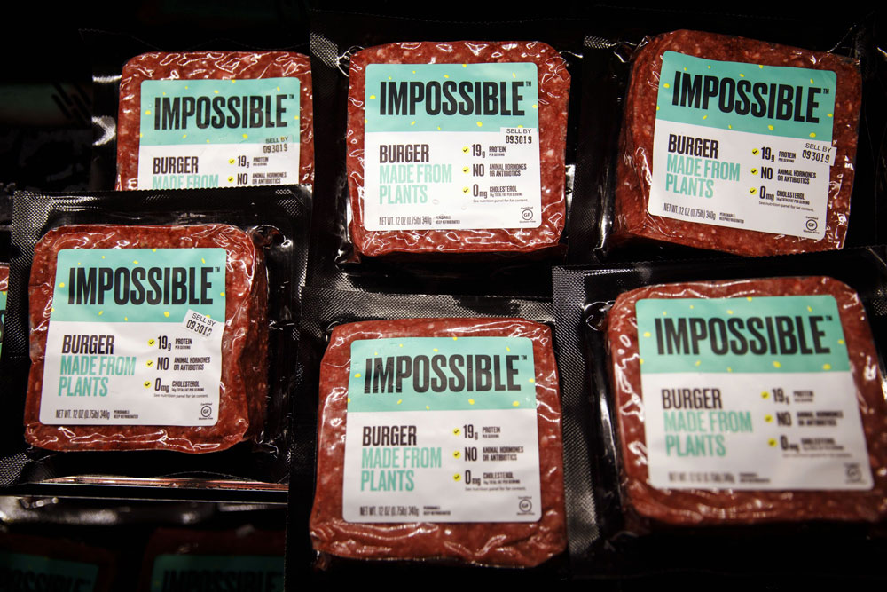 Coatue led a $200 million Series G fund raising for Impossible Foods in August. (Patrick T. Fallon/Bloomberg)