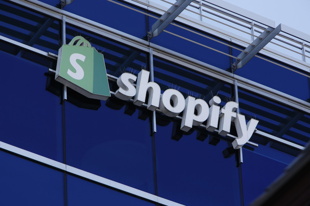 Shopify has been Lone Pine's largest U.S. long for the past three quarters. (David Kawai/Bloomberg)