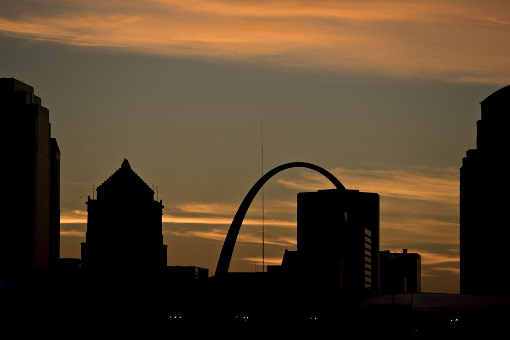 St. Louis, Missouri (Andrew Harrer/Bloomberg)