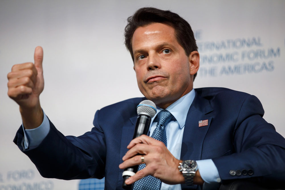 Scaramucci's SkyBridge Is Still Down by Double Digits — But It's Inching Back