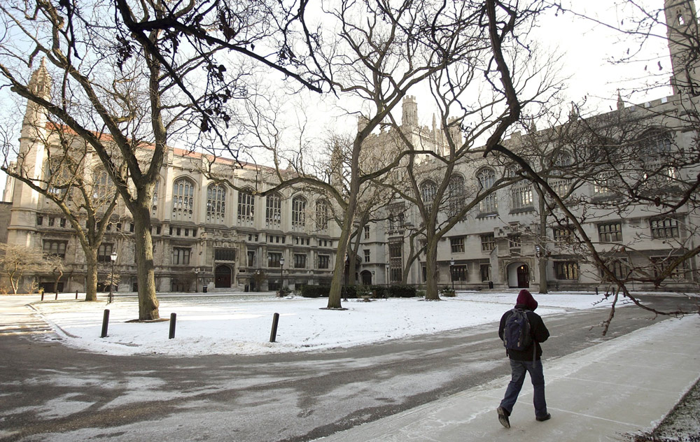 The University of Chicago campus. (Tim Boyle/Bloomberg)
