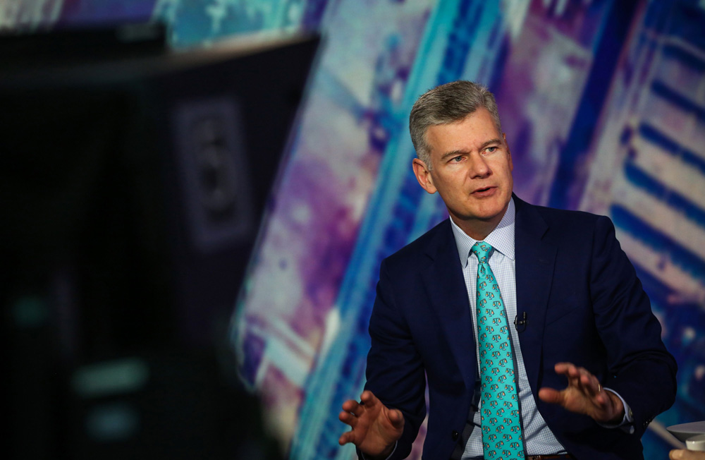 Mark Yusko (Christopher Goodney/Bloomberg)