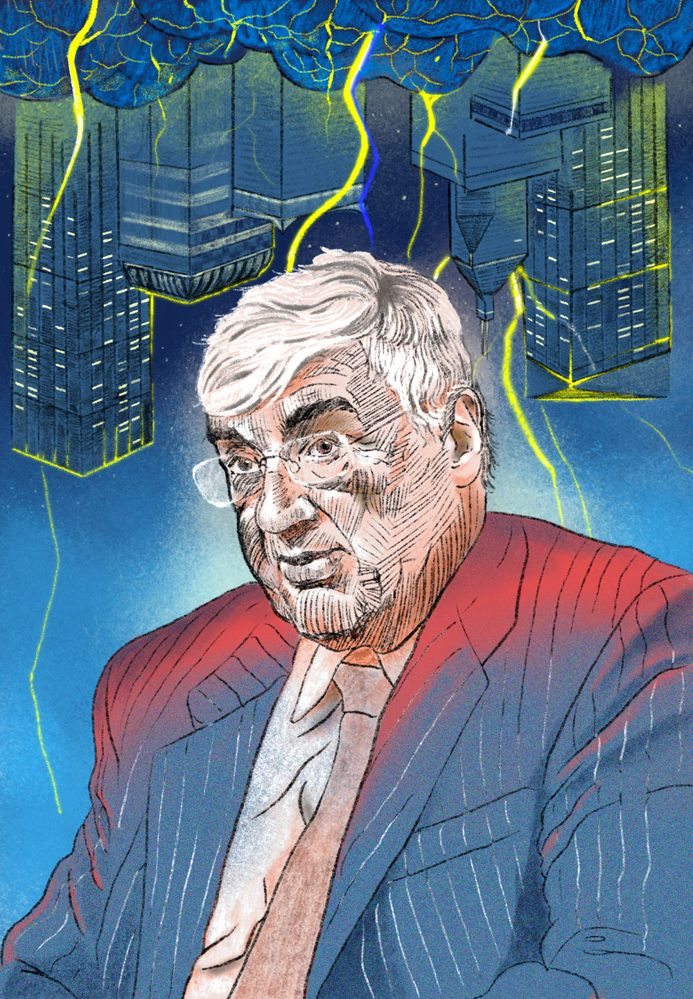 Michael Hintze (Illustration by Jeremy Leung/II)
