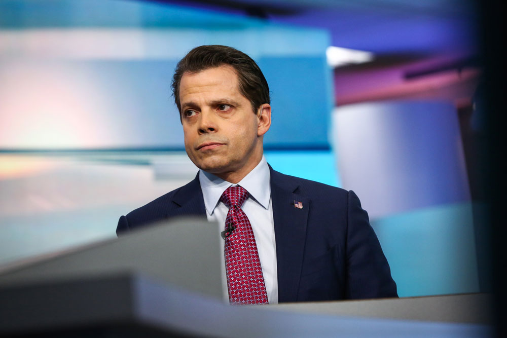 The Mooch's Warm-Up Act for SALT