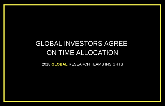 Global Investors Agree on Time Allocation