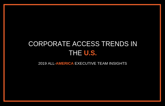 Corporate Access Trends in the U.S.