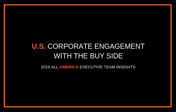 U.S. Corporate Engagement with the Buy Side