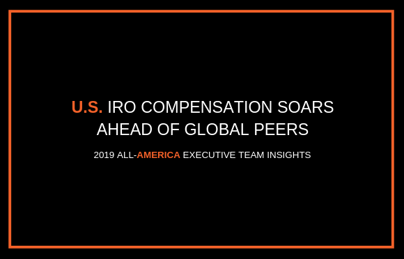 U.S. IRO Compensation Soars Ahead of Global Peers