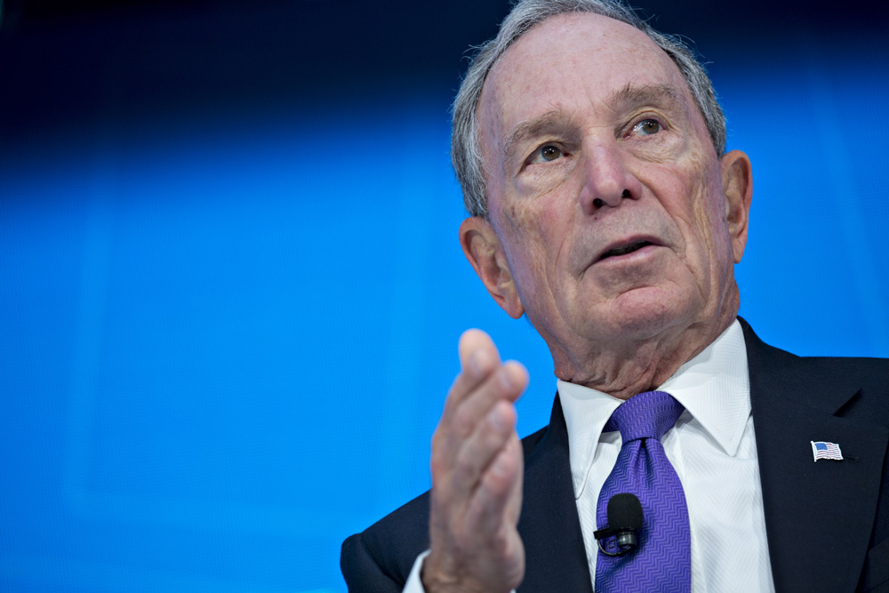 Michael Bloomberg (Andrew Harrer/Bloomberg)