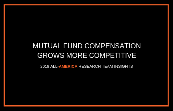 Mutual Fund Compensation Grows More Competitive