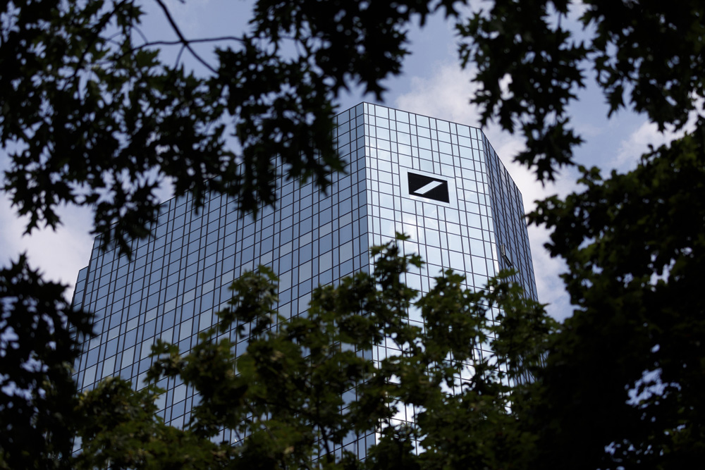 Deutsche Bank headquarters (Alex Kraus/Bloomberg)
