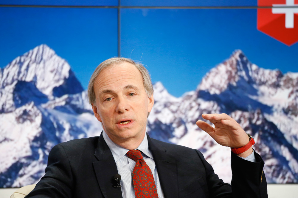 Ray Dalio, founder of Bridgewater Associates (Jason Alden/Bloomberg)