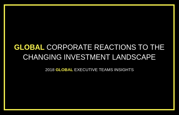 Global Corporate Reactions to the Changing Investment Landscape
