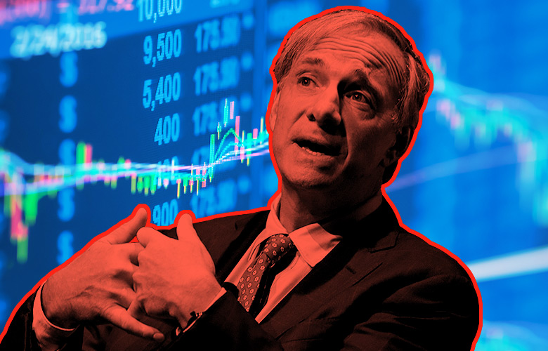 Ray Dalio, billionaire and founder of Bridgewater Associates LP (Illustration by Institutional Investor, Photo credit: Peter Foley/Bloomberg)