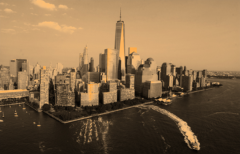 Lower Manhattan (Craig Warga/Bloomberg)
