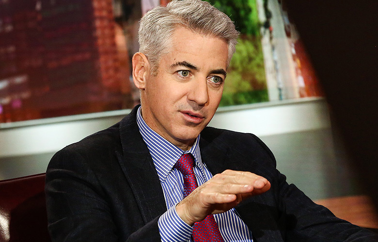 Bill Ackman, chief executive officer of Pershing Square Capital Management LP. (photo credit: Christopher Goodney/Bloomberg)