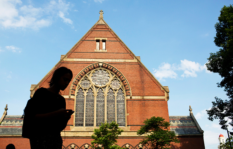 Harvard University (Victor J. Blue/Bloomberg)