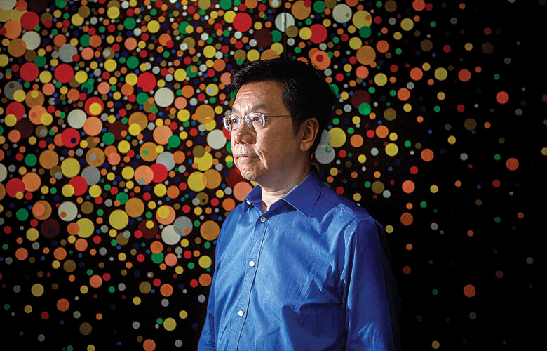 Kai-Fu Lee, CEO of Sinovation Ventures Photograph by Giulia Marchi/Bloomberg