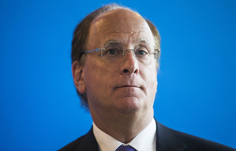 Larry Fink, CEO of BlackRock Inc. (Justin Chin/Bloomberg)