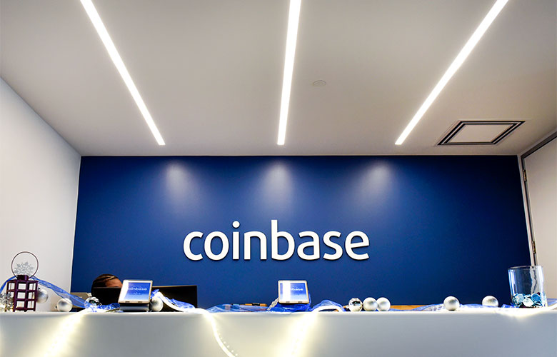 Coinbase Inc. offices in San Francisco (Michael Short/Bloomberg)