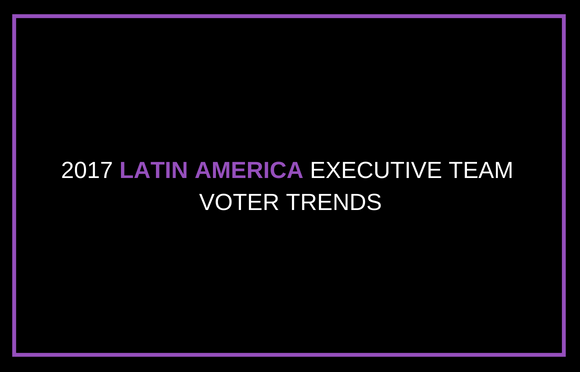 2017 Latin America Executive Team Voter Trends