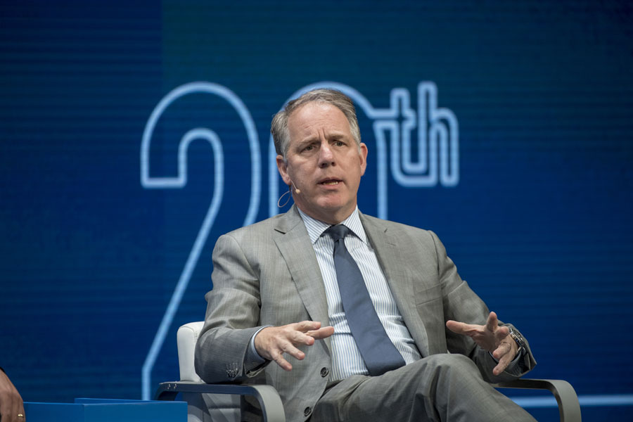 Apollo Investment Corp announced May 18 that James Zelter would step down as CEO. (David Paul Morris/Bloomberg)