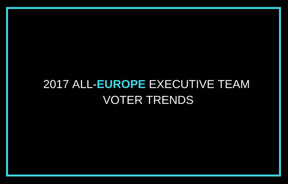 2017 All-Europe Executive Team Voter Trends