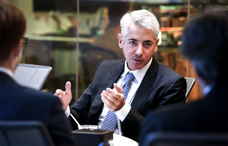 Bill Ackman, CEO of Pershing Square (Christopher Goodney/Bloomberg)