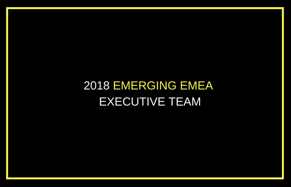 2018 Emerging EMEA Executive Team