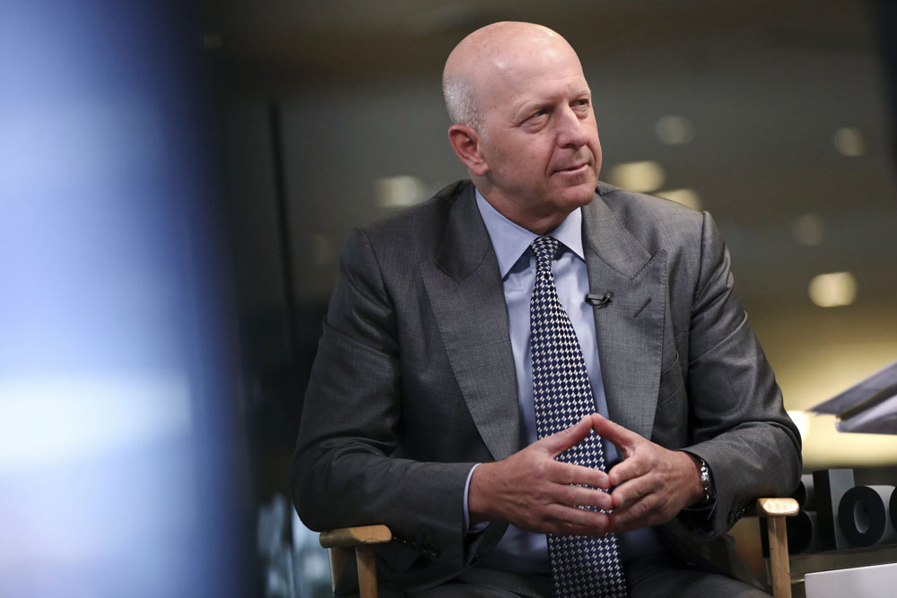 Lloyd Blankfein Steps Down as Goldman Sachs CEO