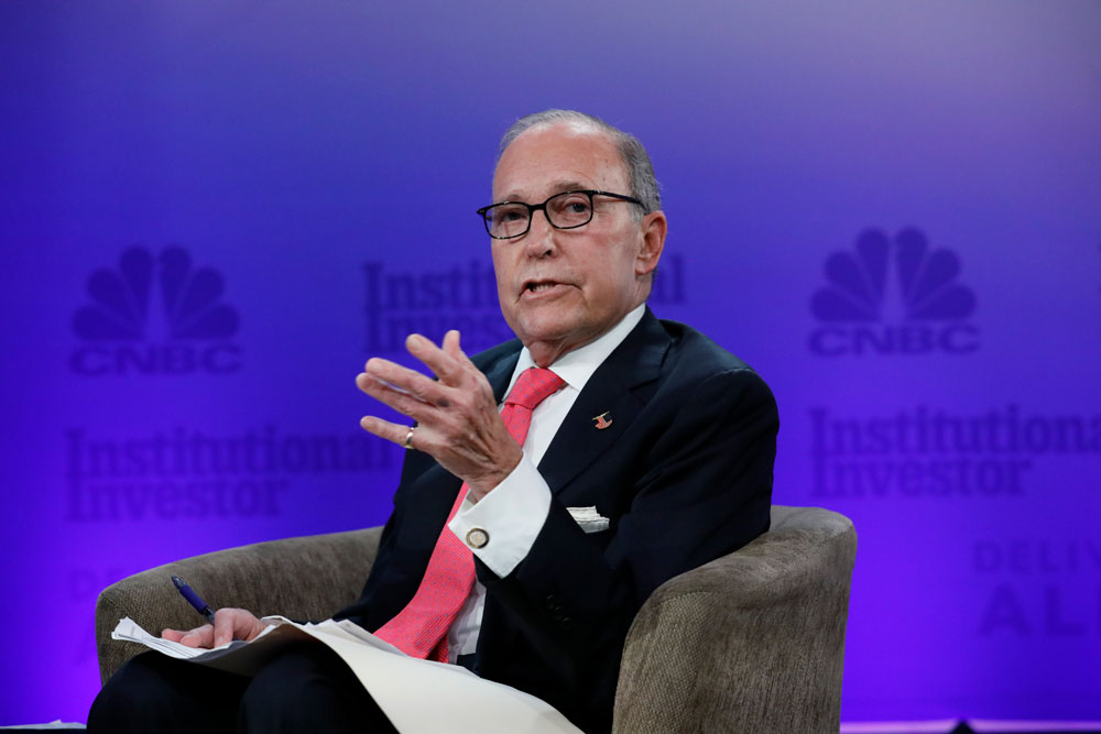 Kudlow Defends 'Significant Trade Dispute' With China, Takes Bullish Tone on Economy