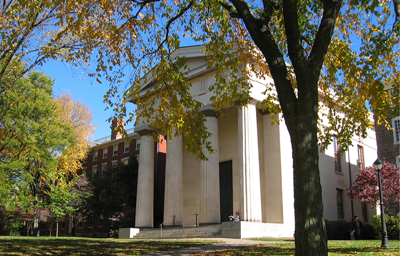 Manning Chapel, Brown University (Photo: Wikimedia Commons)