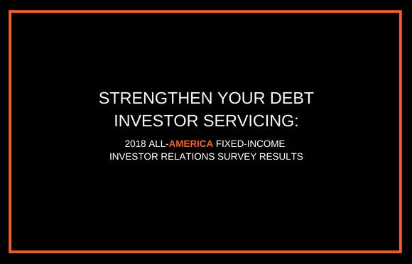 Strengthen Your Debt Investor Servicing