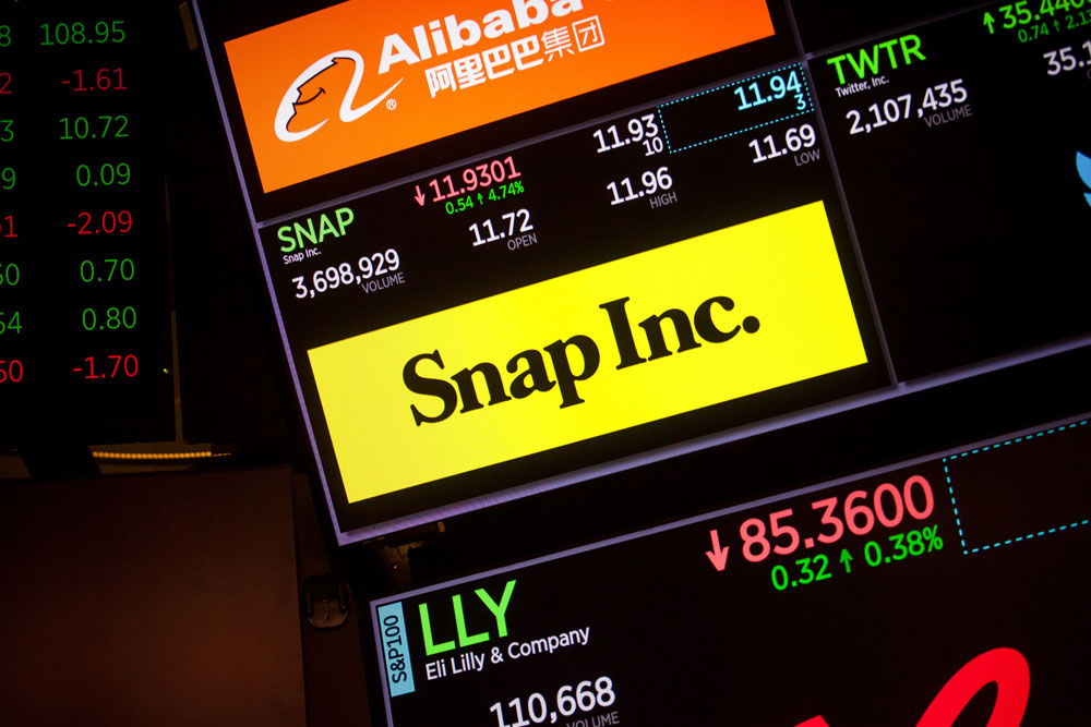 Hedge Funds Give up on Snap
