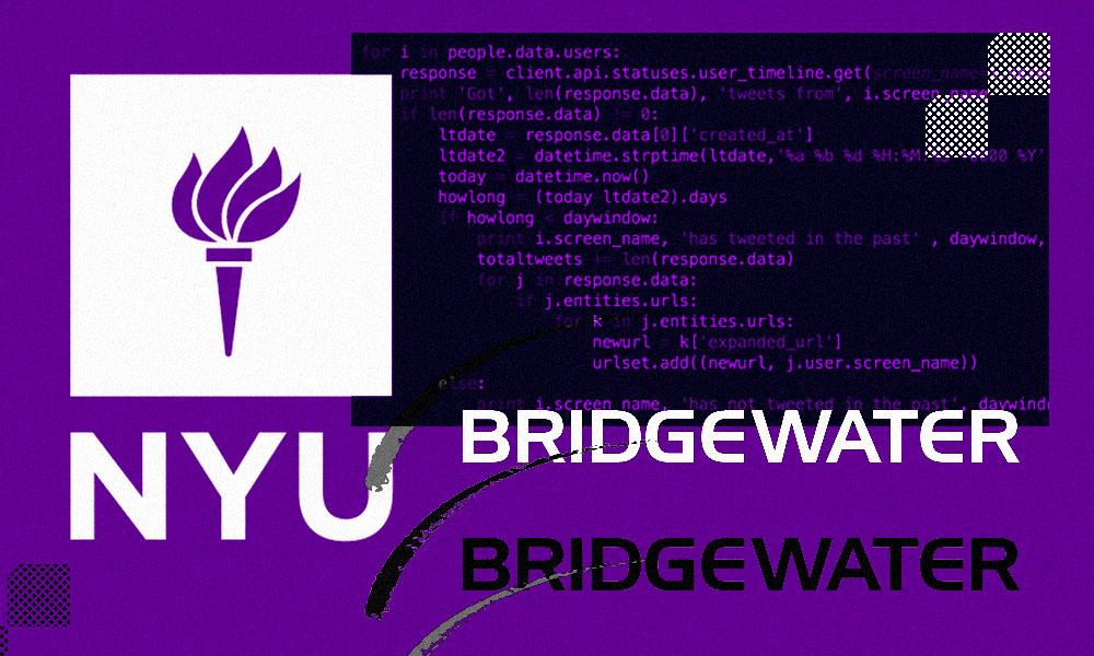 Bridgewater to Fund Scholarships for NYU Cybersecurity Degree