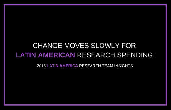 Change Moves Slowly for Latin American Research Spending
