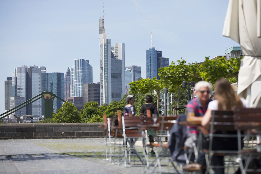 Frankfurt, Germany. (Alex Kraus/Bloomberg)