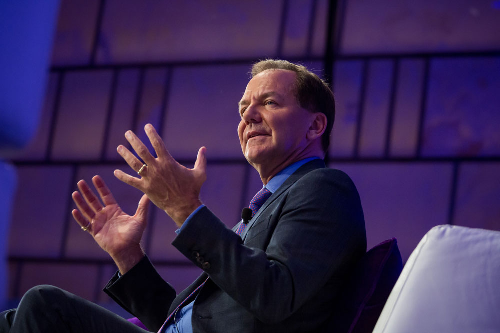 Paul Tudor Jones,  Tudor Investment Corp. (Michael Nagle/Bloomberg)