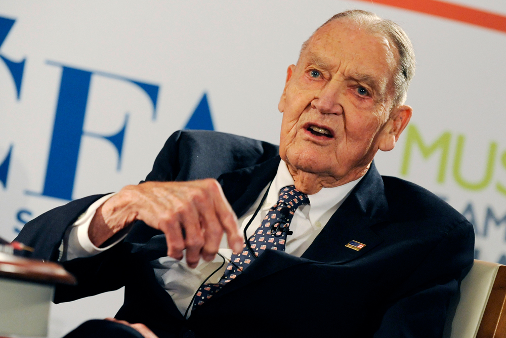 John Bogle (Peter Foley/Bloomberg)