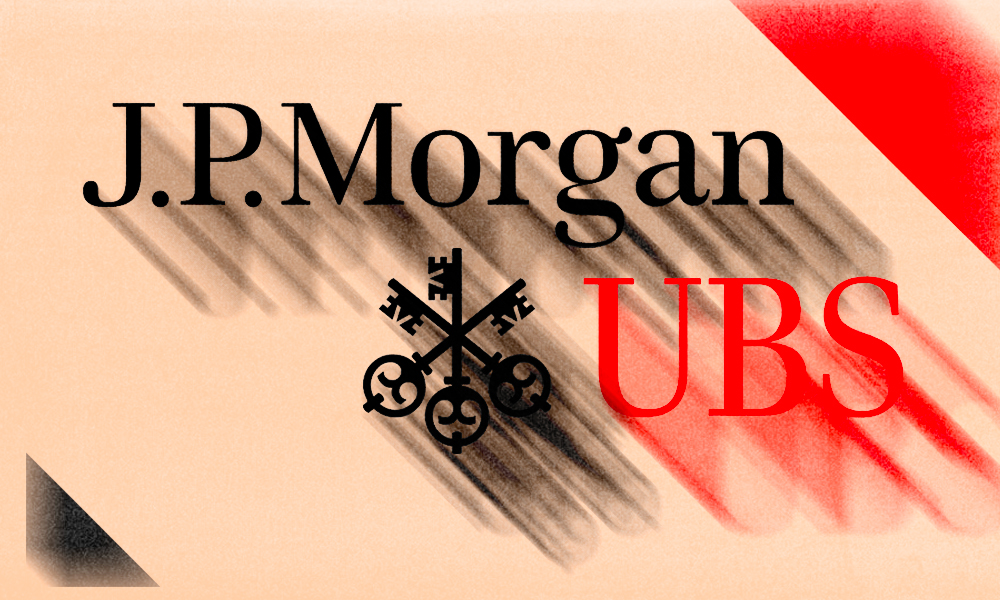 J.P. Morgan, UBS Emerge as European Sales Leaders