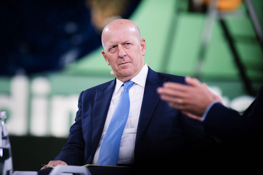 Being CEO of Goldman Sachs Is a Lonely Affair. But David Solomon Has a Solution.