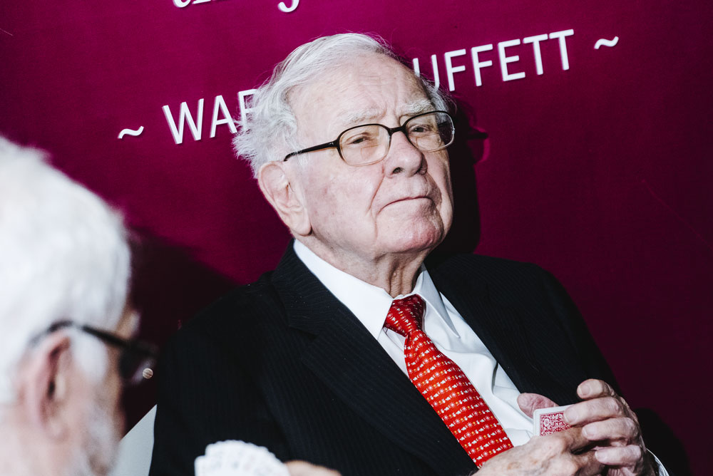 Warren Buffett (Houston Cofield/Bloomberg)