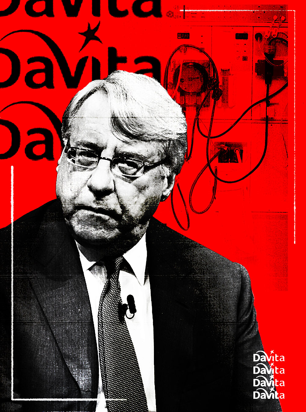 Jim Chanos. (Illustration by II; Misha Friedman/Bloomberg)