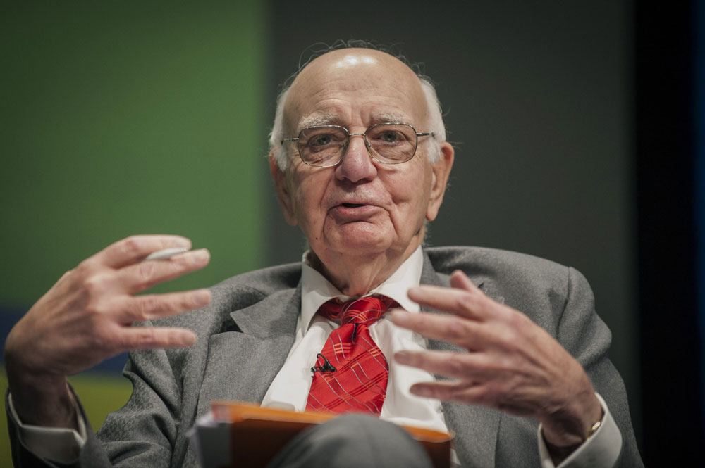 Former Fed Chairman Paul Volcker Dies at 92