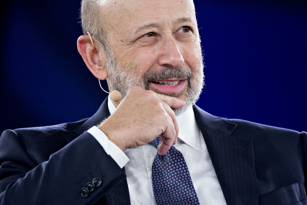 Lloyd Blankfein Will Entertain Your Guests — For a Fee