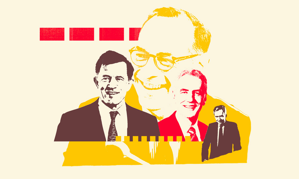 Simon Borrows, Oliver Bäte, Richard Ridinger and Bernard Arnault. (Illustration by II / Courtesy photos)